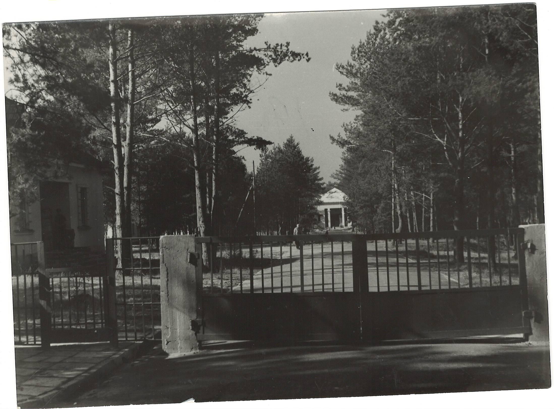 Kačerginės vaikų sanatorija-pagrindinis įėjimas-1963 m  (2)