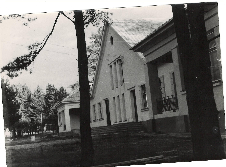 Kačerginės vaikų sanatorija-pagrindinis pastatas-1963m