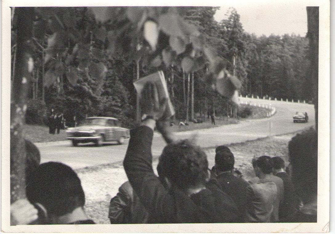 Lenktynių momentas 1963m.