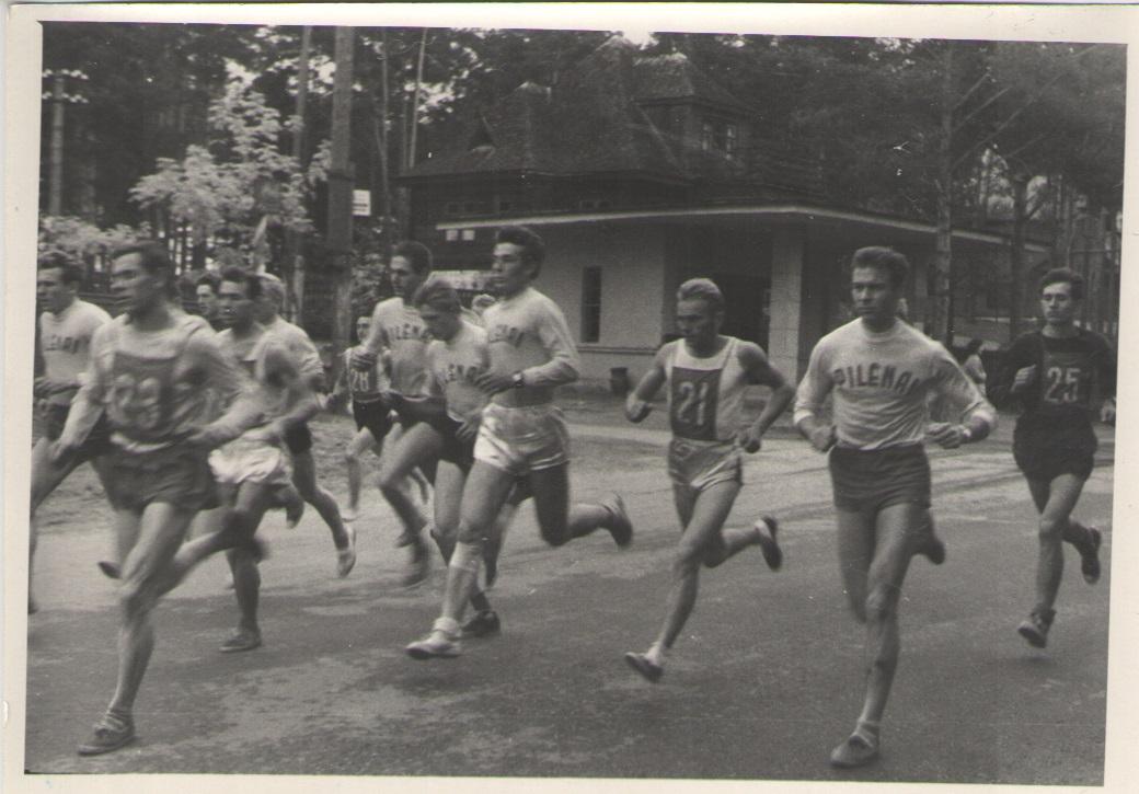 Prof.Ruokio prizinis bėgimas 1963